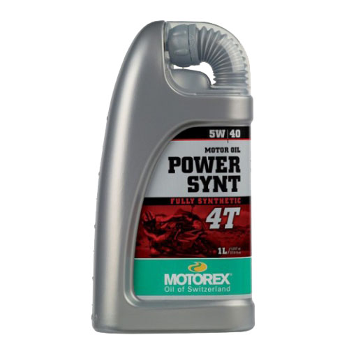 Масло моторное Motorex Power Synt 4T 5w40 1L