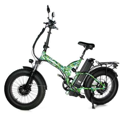 "Электровелосипед E-motions FAT 20"" all mountain double 2 1000W"
