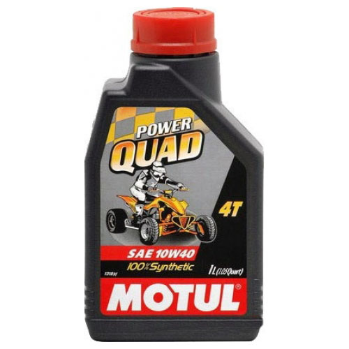 Моторное масло Motul Power Quad 4T 10W40 (1 литр)