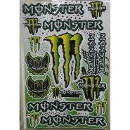 Наклейки на мотоцикл MONSTER ENERGY ARMY 14