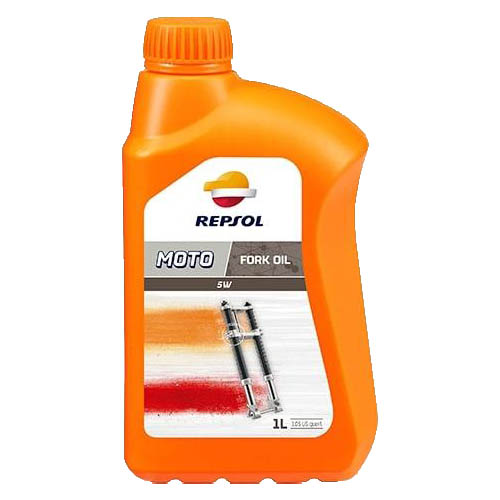 Масло REPSOL MOTO FORK OIL 5W 1 л